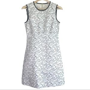 Kate Spade New York Linen and Lace Floral Dress